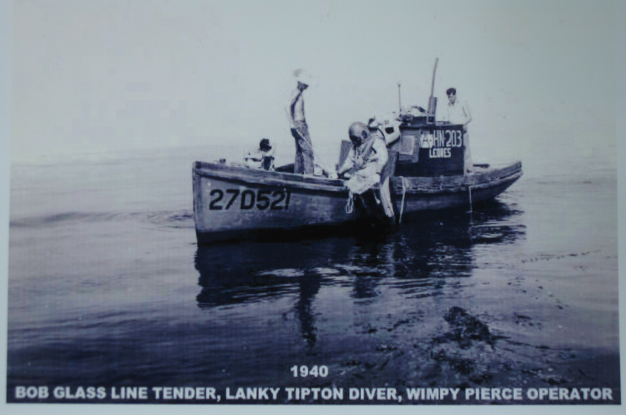 Wimpy Pierce Boat 1940 (courtesy Steve Rebuck)